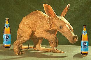 aardvark playing stubby guts
